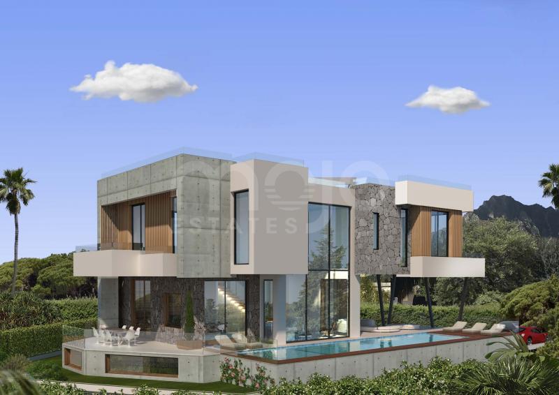 Villa til salg i Marbella Golden Mile