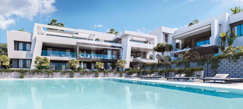 Lägenhet till salu i La Resina Golf, Estepona