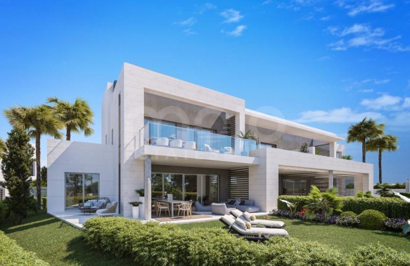 Villa en construccion en venta en Guadalmina Baja, San Pedro de Alcantara