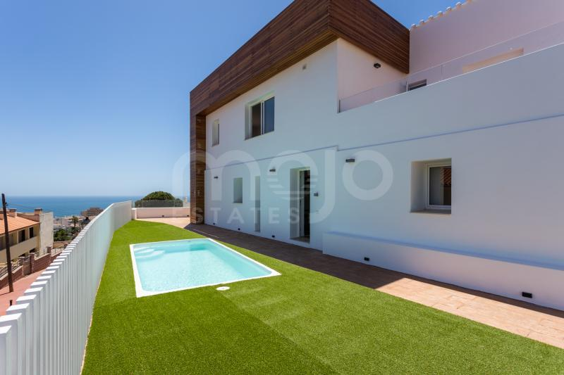 Newly renovated contemporary villa with fantastic sea and mountain views in Torrebanca, Fuengirola!