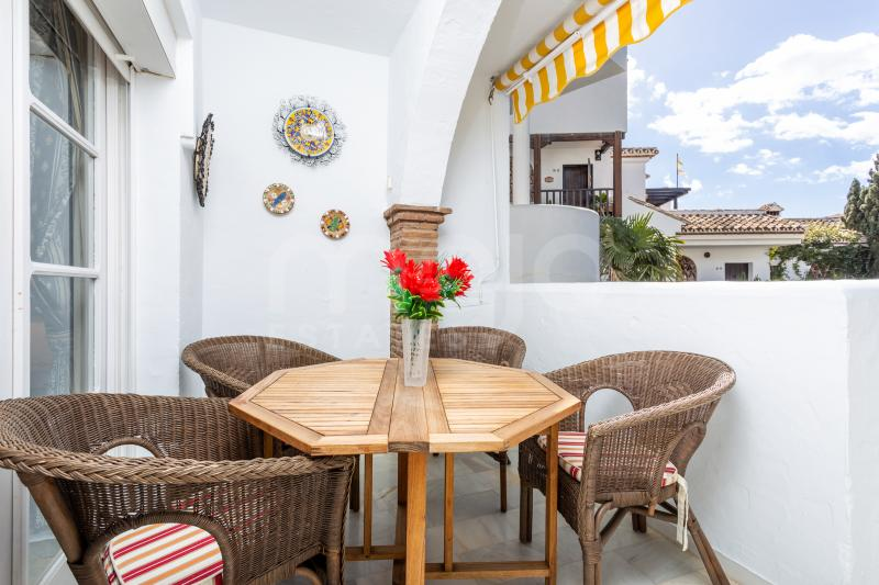 A cozy apartment located inside a gated urbanization in Mijas Costa!
