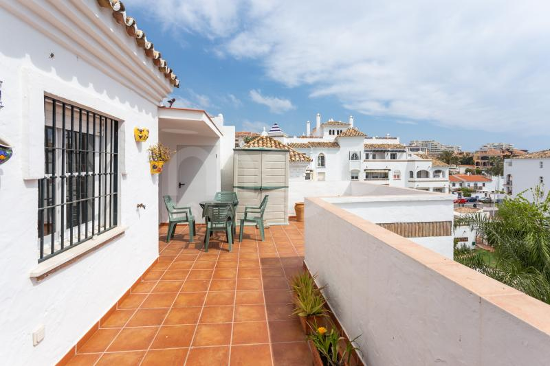 Penthouse til salg i Benalmadena Costa