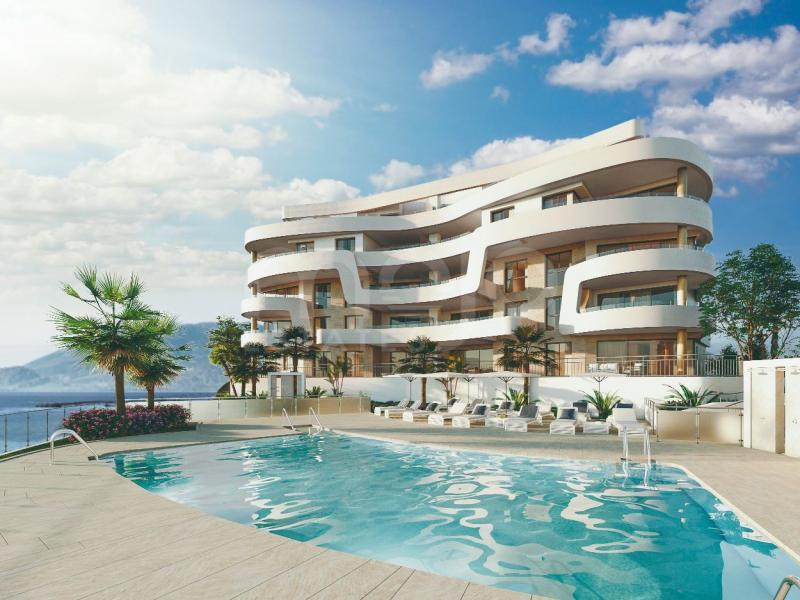 Magnificent apartments and penthouses with stunning views and direct access to the beach