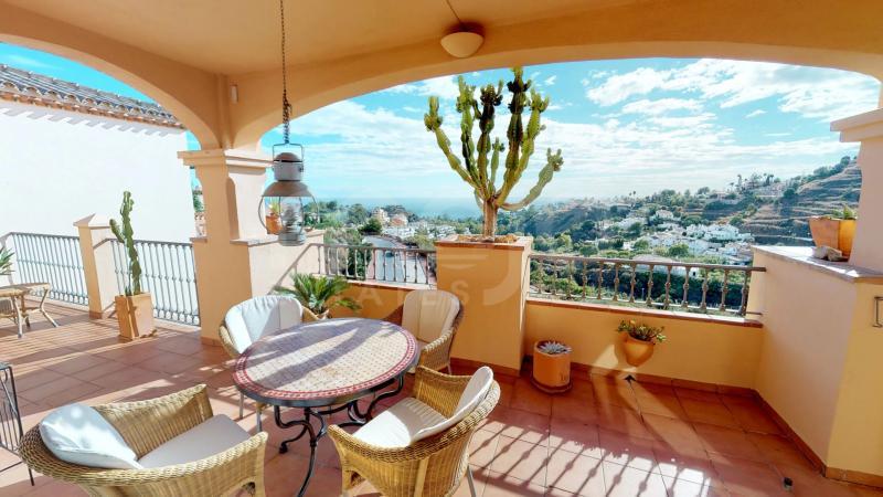 Penthouse te koop in Torrequebrada, Benalmadena
