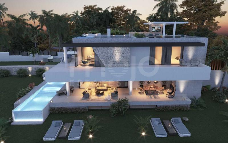 New development of luxury villas