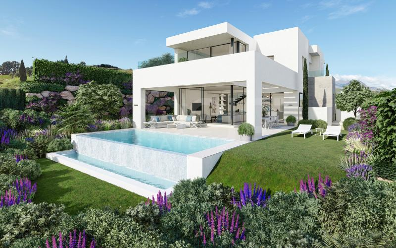 Villas of contemporary style and spacious open-plan living areas.