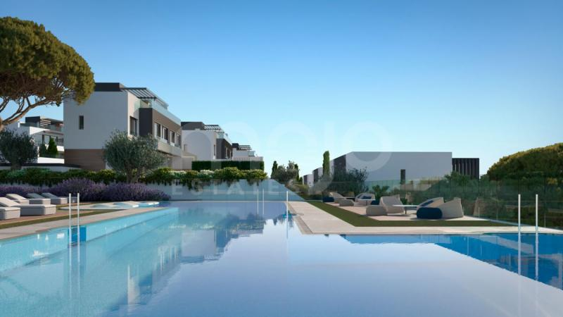 50 semi-detached villas with 2 and 3 bedrooms and 9 different types to suit everybody's dreams and daily family comfort needs.