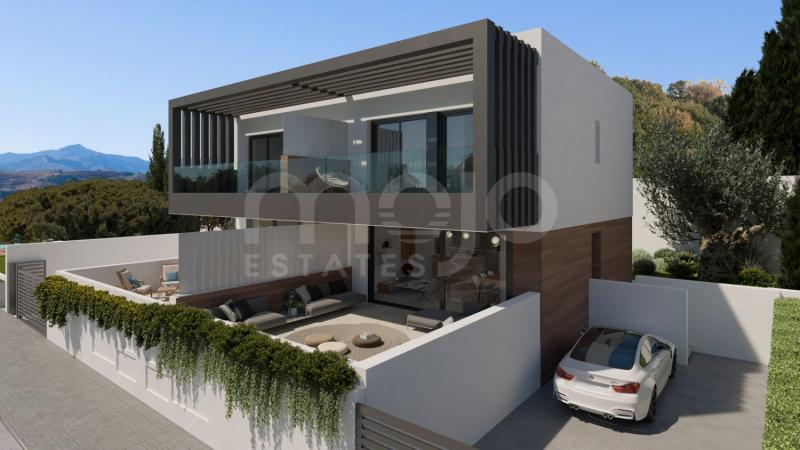 50 semi-detached villas with 3 bedrooms and 9 different types to suit everybody's dreams and daily family comfort needs.