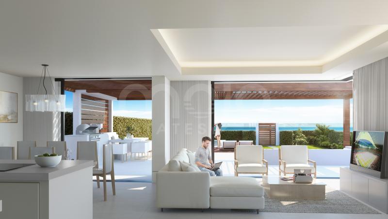 Penthouse til salg i Estepona Playa