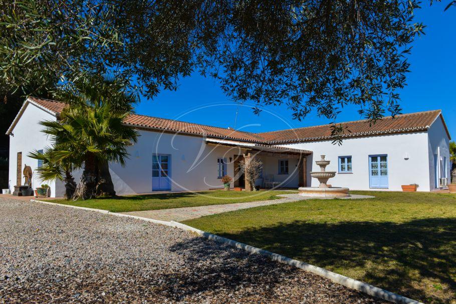 Beautiful country villa with panoramic views, Jimena de La Frontera