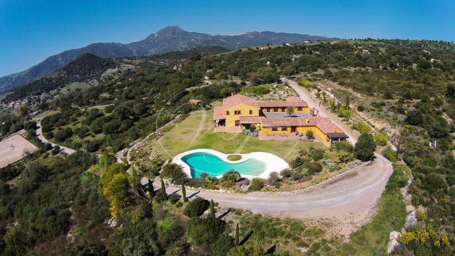 Unique luxury Cortijo with equestrian facilities near Marbella, Casares