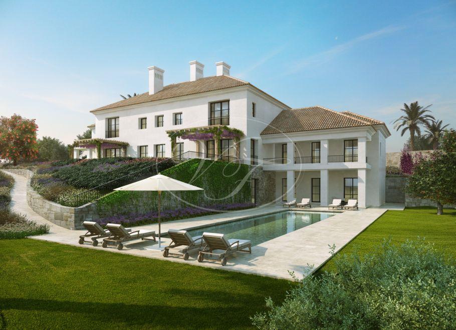 Luxuriöse villa mit Meerblick, Casares