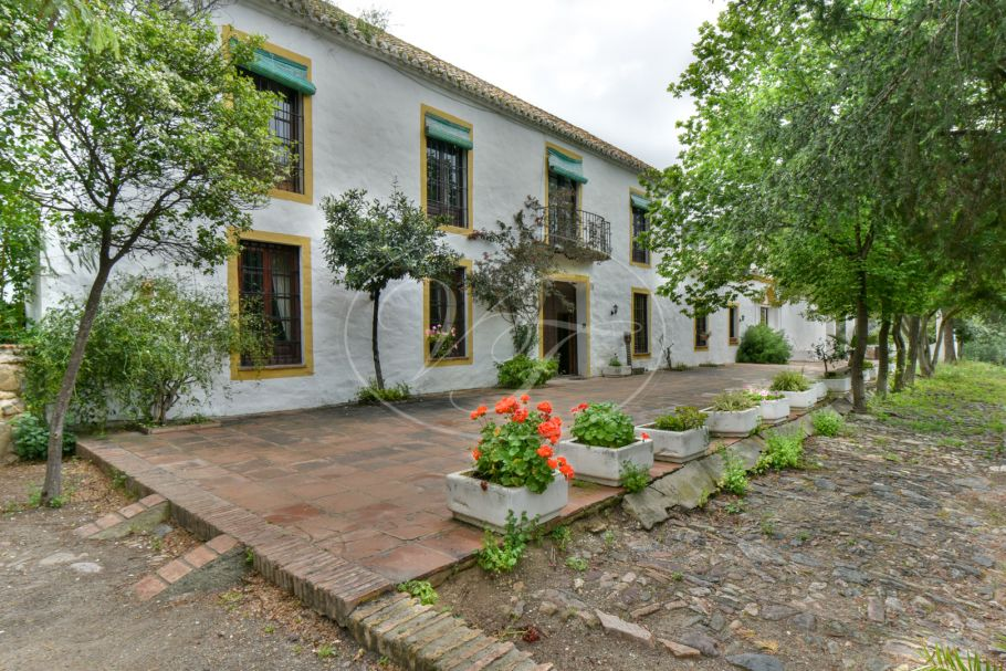 Beautiful cortijo with olive grove, Malaga