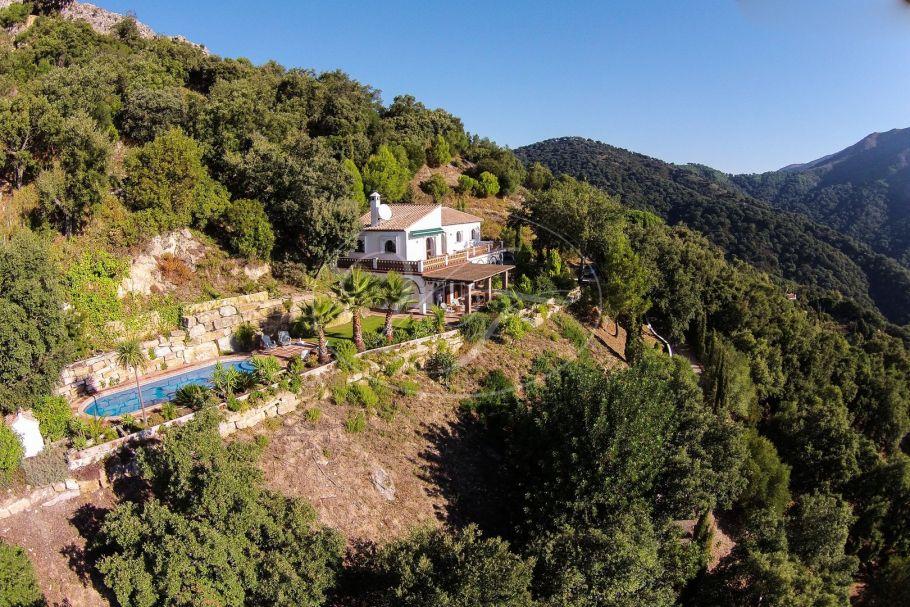 Superb Country villa with spectacular sea views, Casares