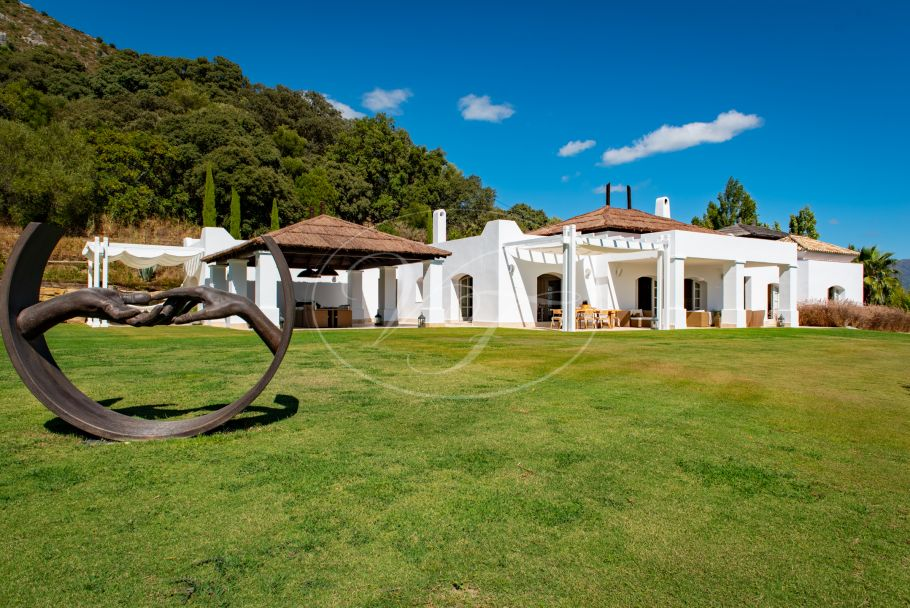 Exclusive country villa with extraordinary sea views, Gaucin