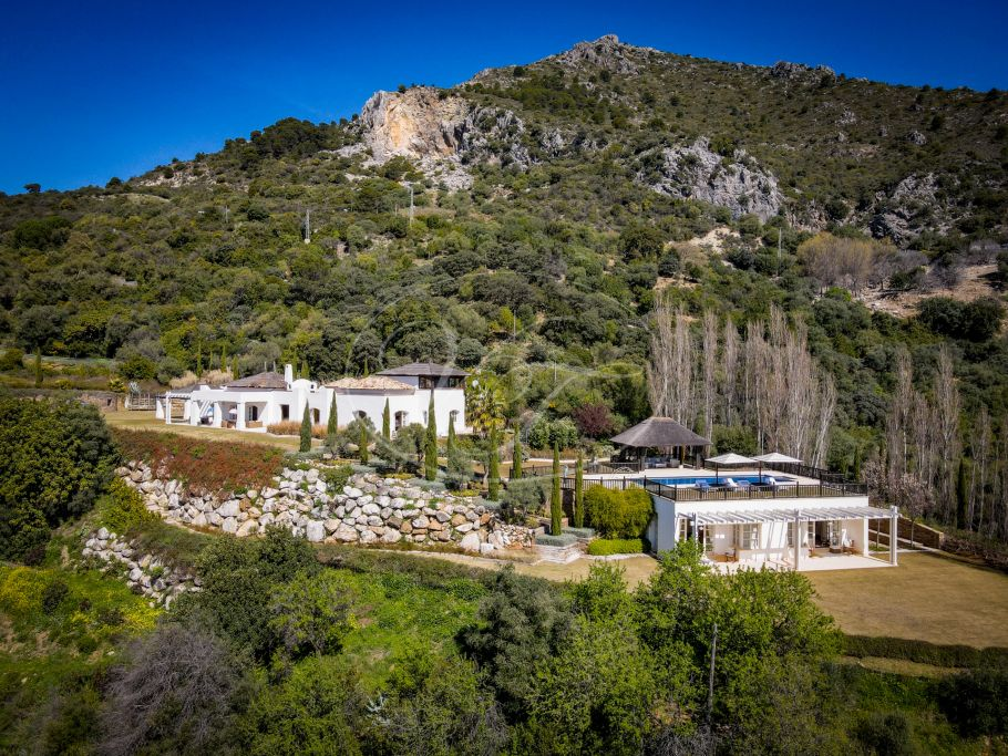 Exclusive country villa with extraordinary sea views, Gaucin