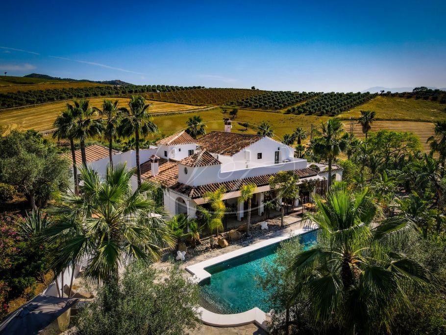 Fabulosa villa B&B con suites para invitados, Alora