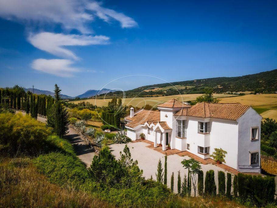 Villa moderna con vistas panorámicas, Ronda