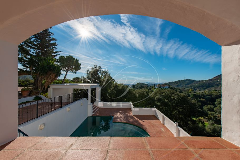 Stunning Luxury Country Villa with sea views, Casares
