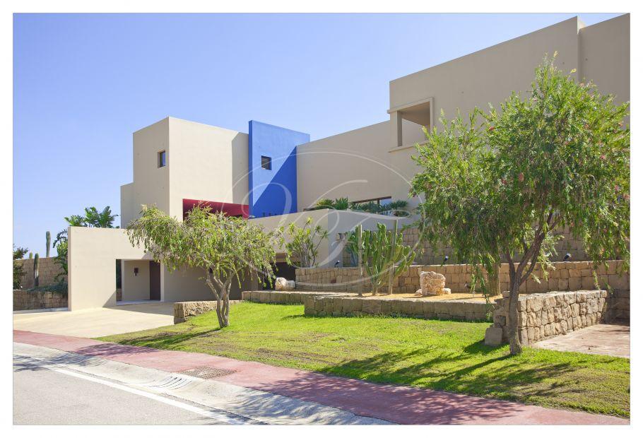 Contemporary Villa, Mexican style, La Reserva