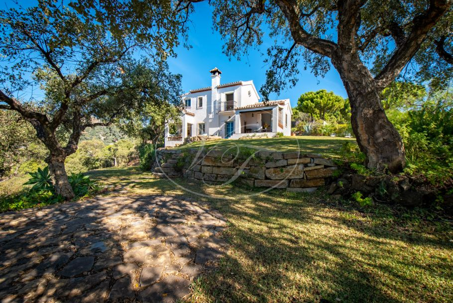 Lovely finca with seaviews, Casares Montaña