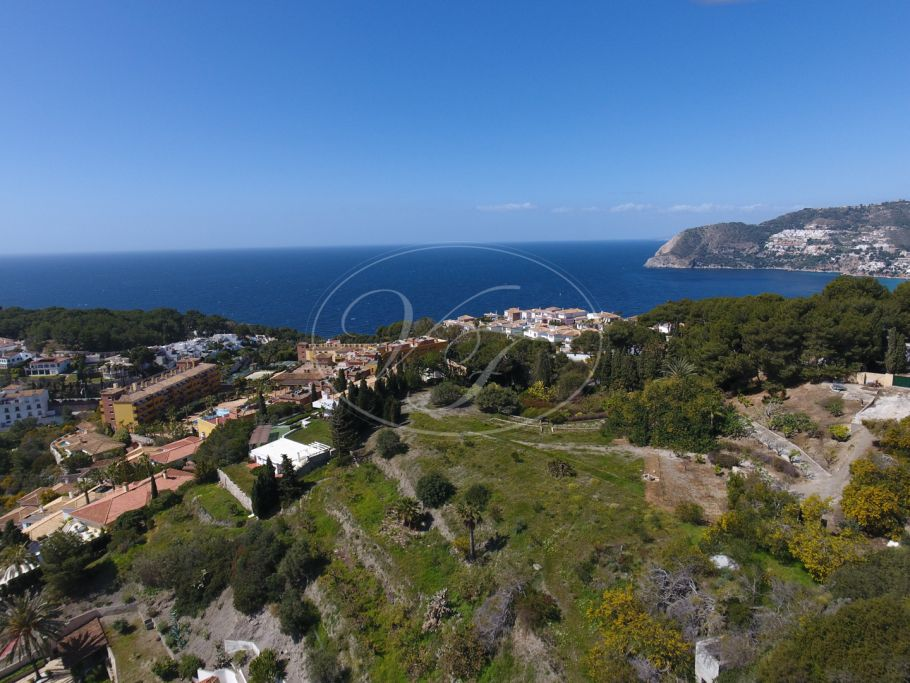 Wonderful plot with panoramic sea and mountain views , La Herradura