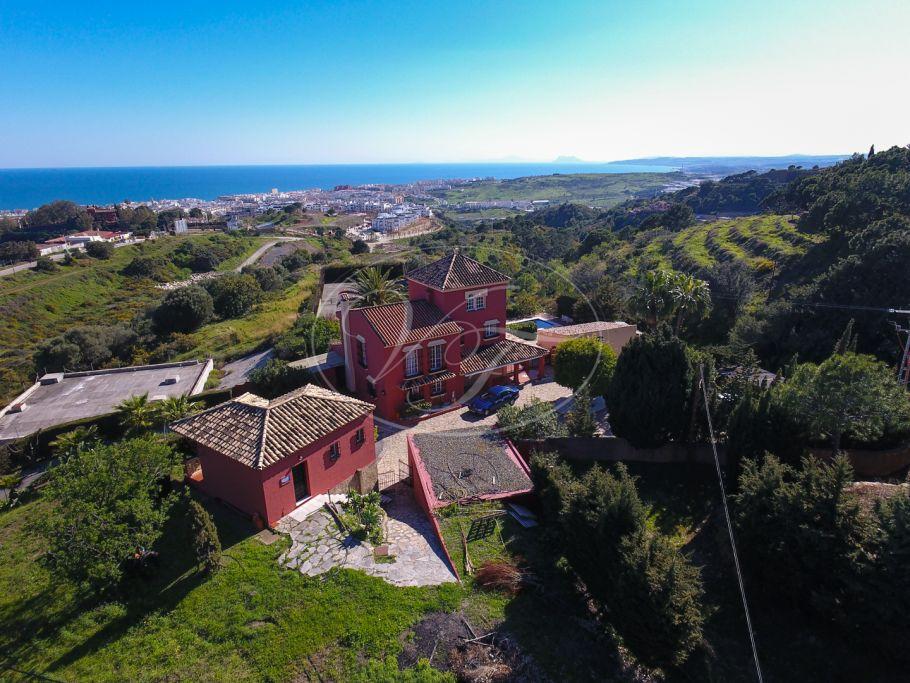 Unique Country Villa with stunning sea views, Estepona