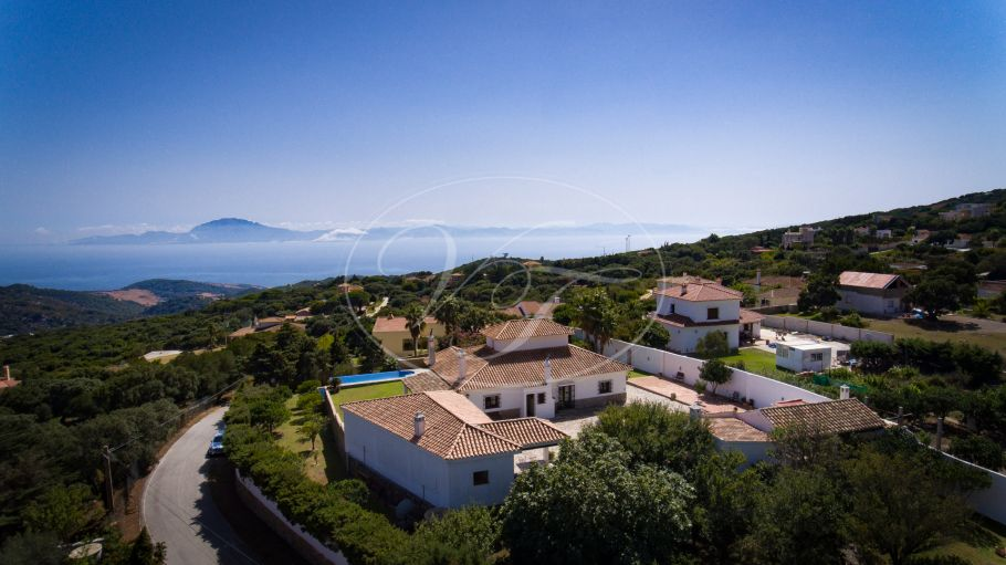 Luxury Country Villa with Breathtaking Views of Africa, Tarifa