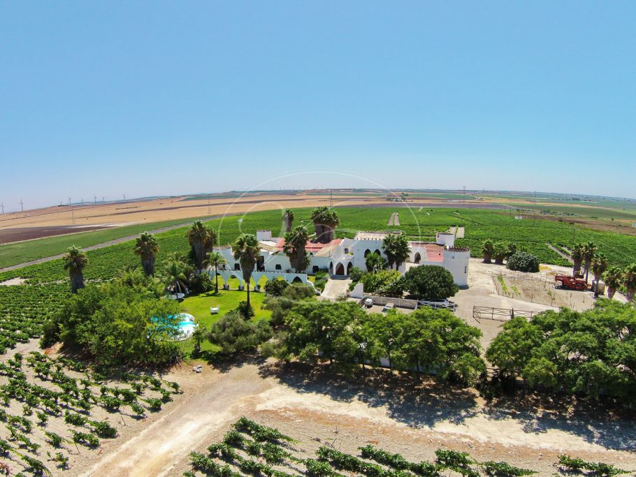 Beautiful 18th Century Castle with vineyard, Sanlucar de Barrameda