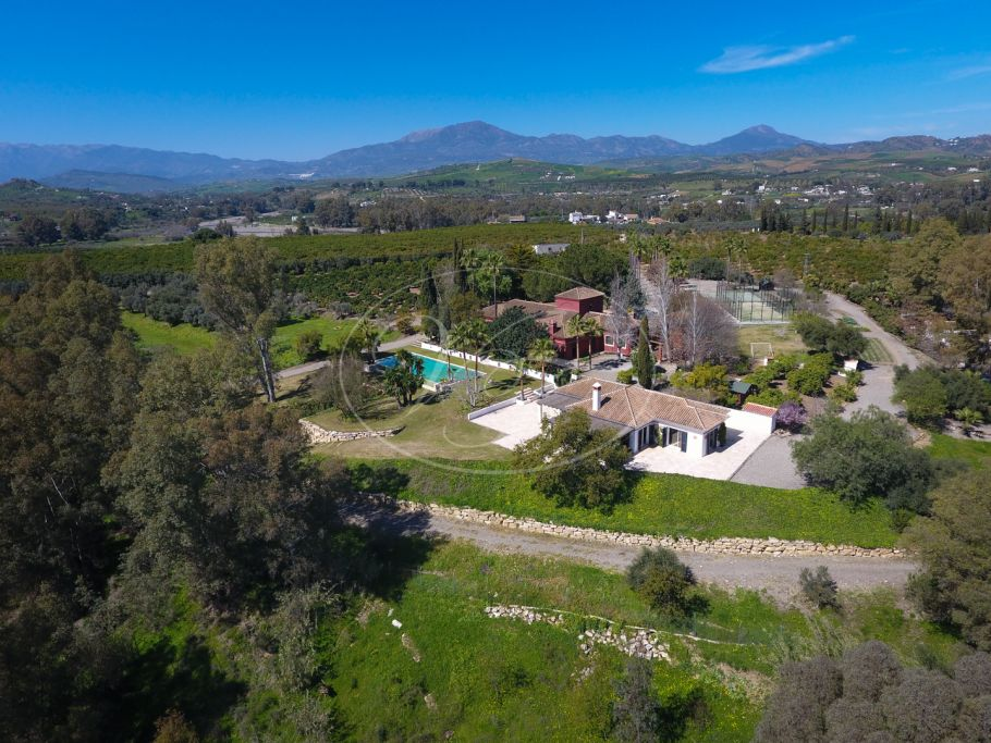Fantastic finca with lovely country house, Coin