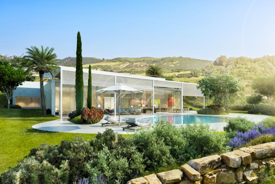 Villa am golf, Casares
