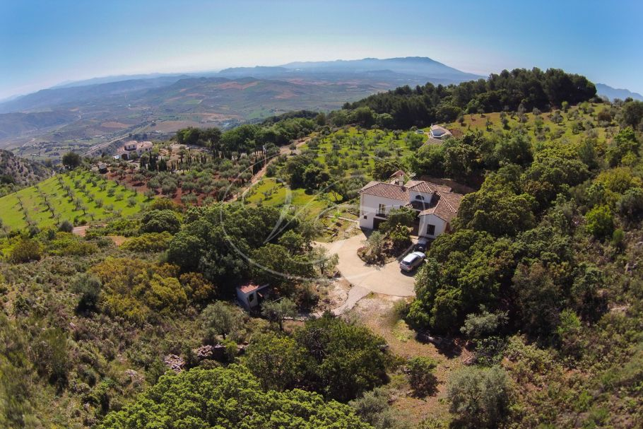 Country House with Breathtaking Views, Casarabonela