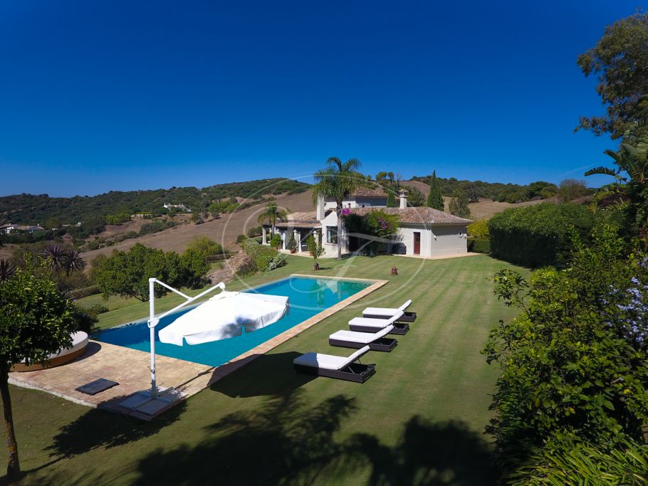 Country Villa with breathtaking views, Sotogrande