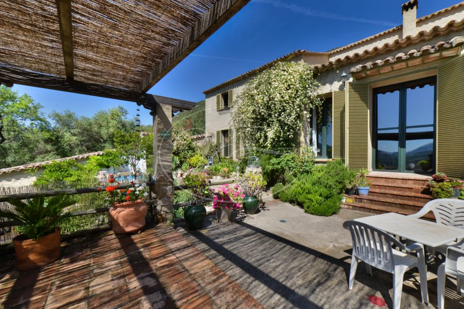 Charming finca with olive grove, El Bosque