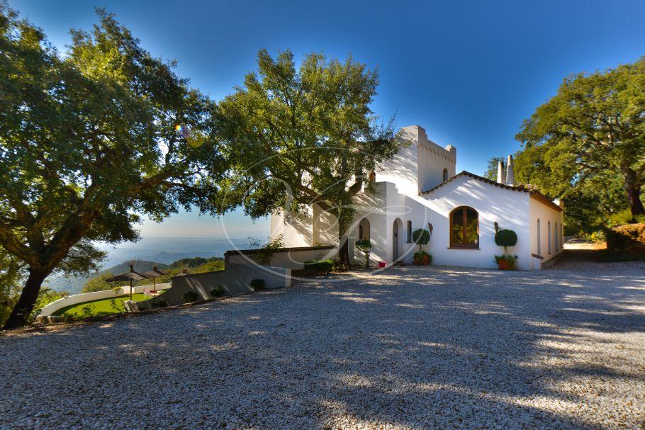 Schitterend Landhuis met panoramisch zeezicht, Gaucin