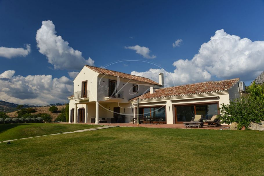 Stunning luxury private country villa, Casares