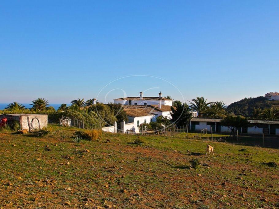 Historische Cortijo, Landgut, 5 minuten vom Strand, Casares