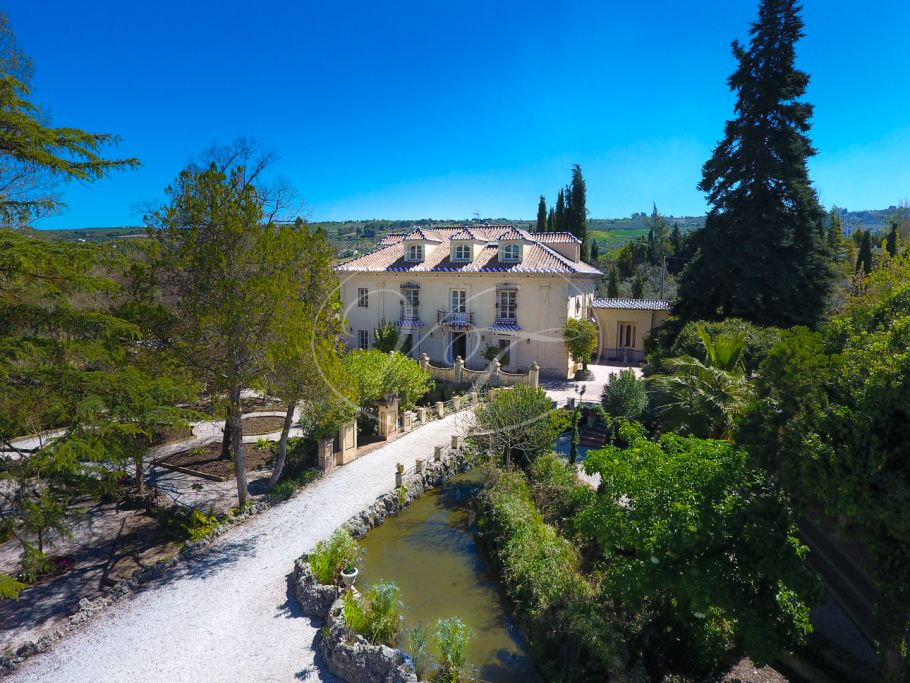 Unique country palace set in beautiful mature gardens, Ronda