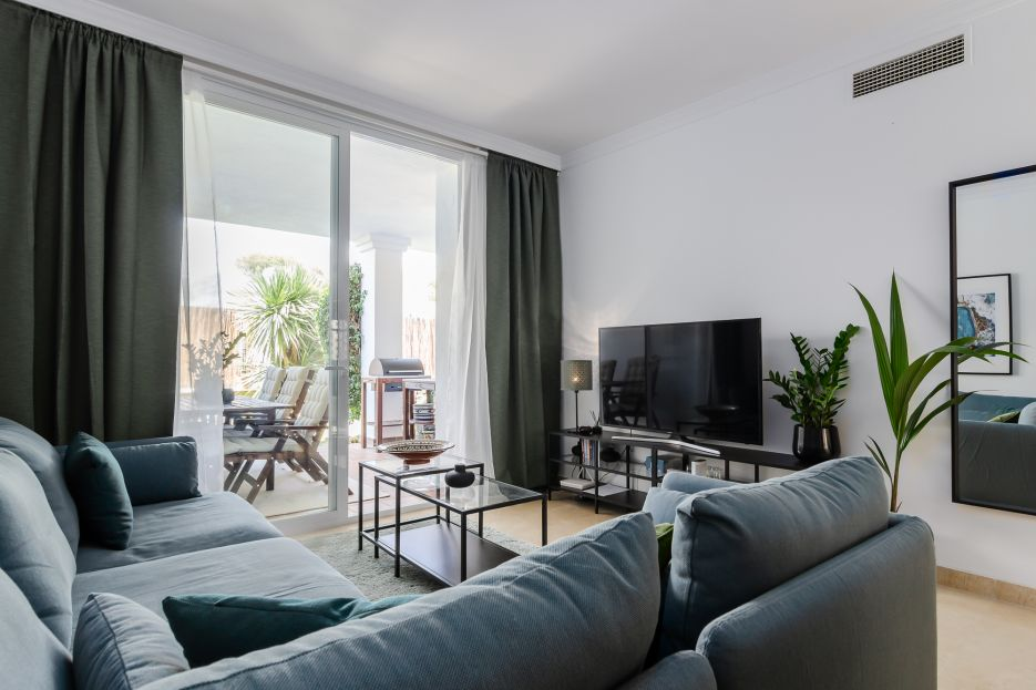 Lovely 3 bedroom apartment in Nueva Andalucía