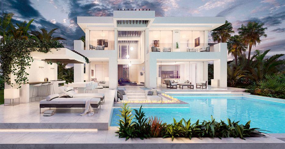 Contemporary villa in Nueva Andalucía