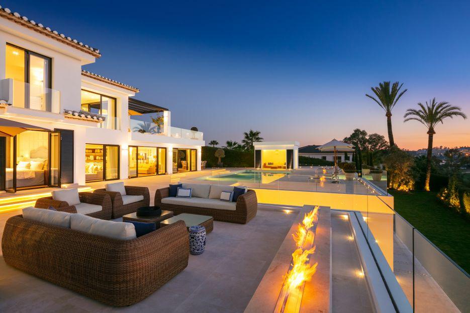 Villa Elba - Luxury villa front line golf Los Naranjos