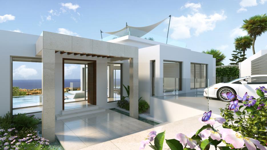 Spectacular 4 bedroom villa with stunning sea views in Marbella