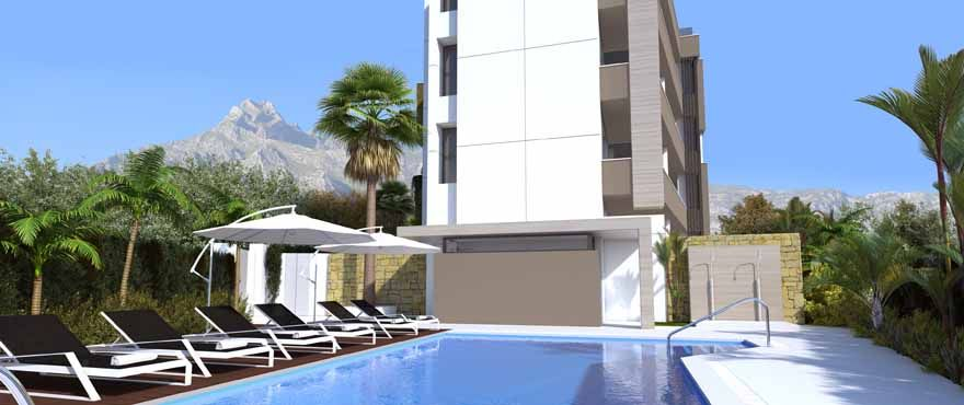 New apartments for sale walking distance to Puerto Banus