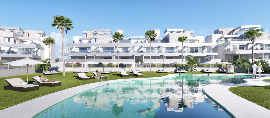 New off plan project in Cancelada, Estepona