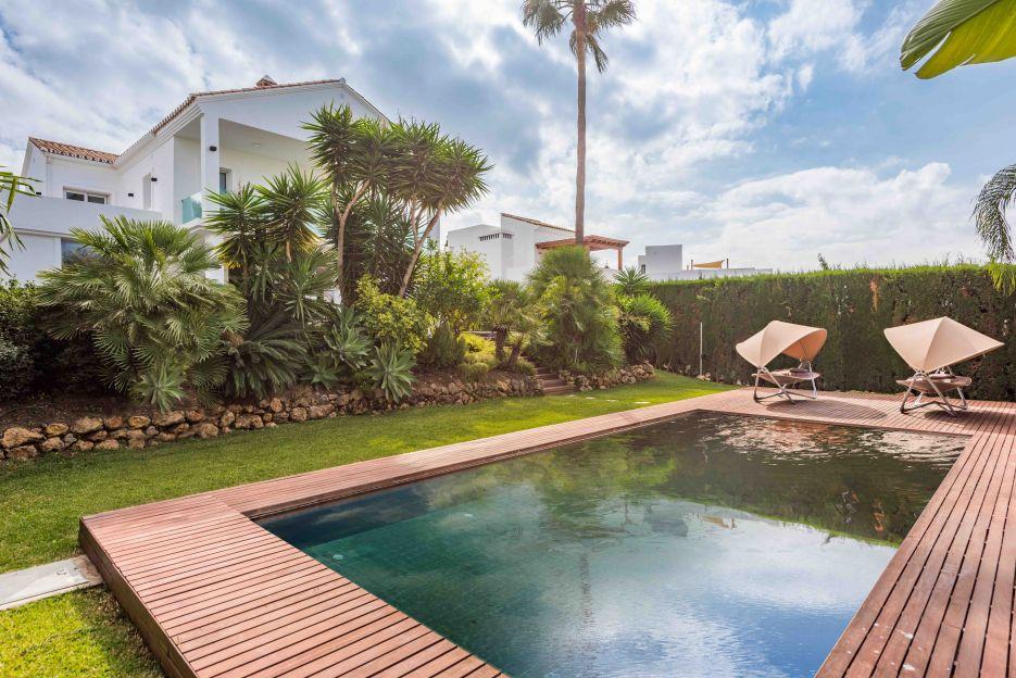 Completely renovated villa in Nueva Andalucía
