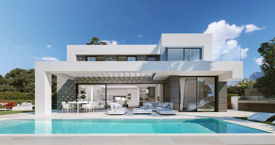 New development of villas in Cabopino