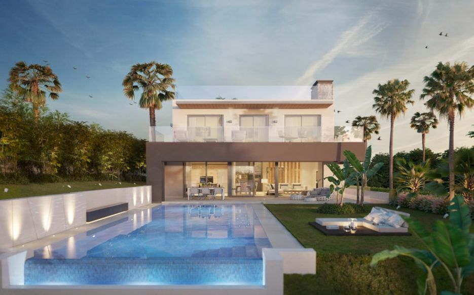 New project of 2 contemporary villas in La Cerquilla