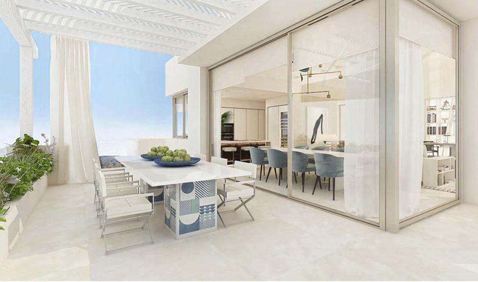 Brand new 3 bedroom apartment in Benahavis area