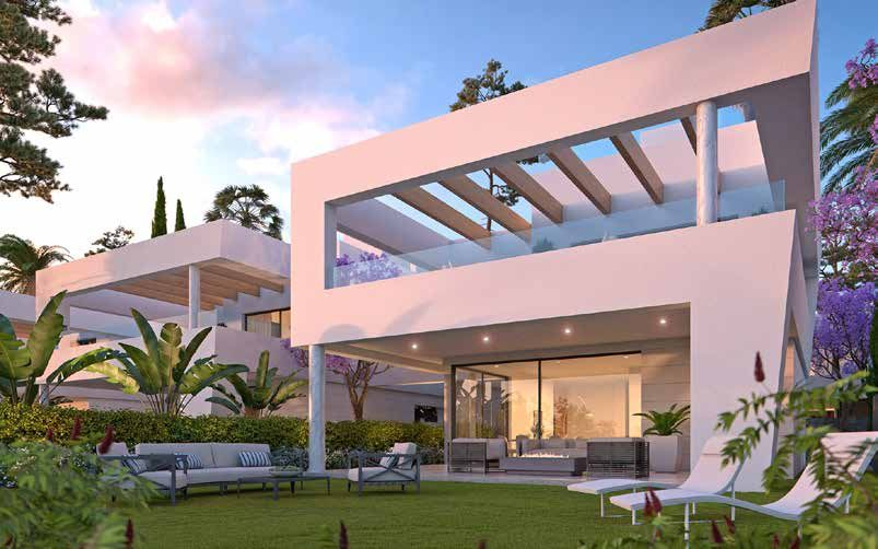 New villas for sale off plan in San Pedro de Alcantara