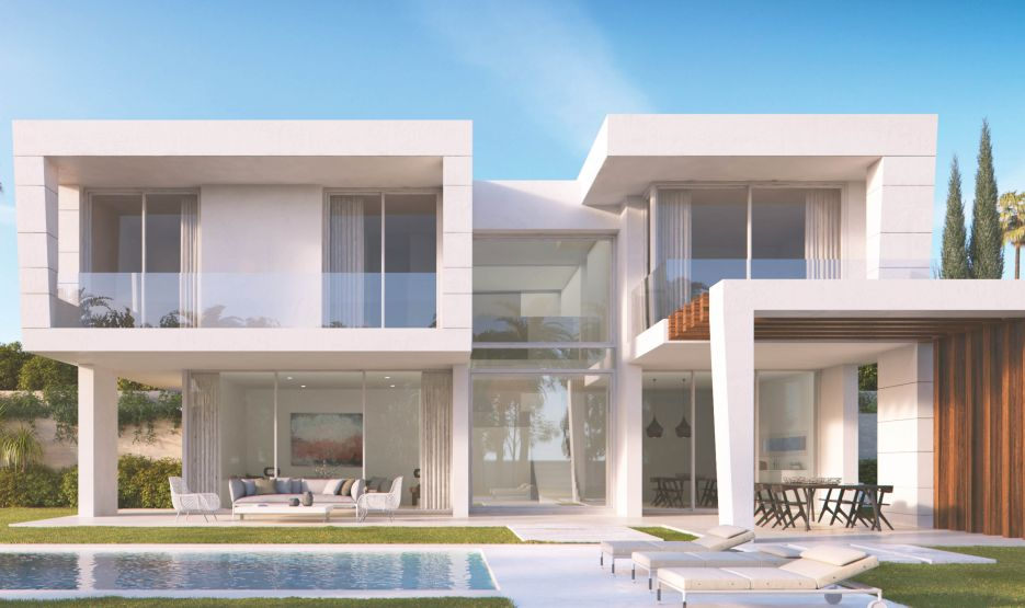 New 3 bedroom villa for sale off-plan in Santa Clara, Marbella East